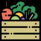 Verdura en tempura para vegetarianos o veganos