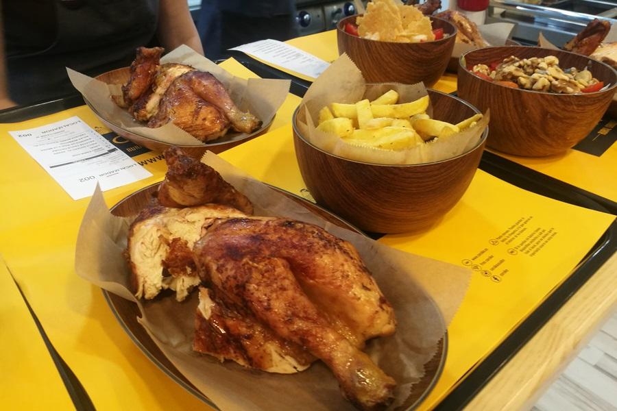 menú sin gluten en restaurante de gandia