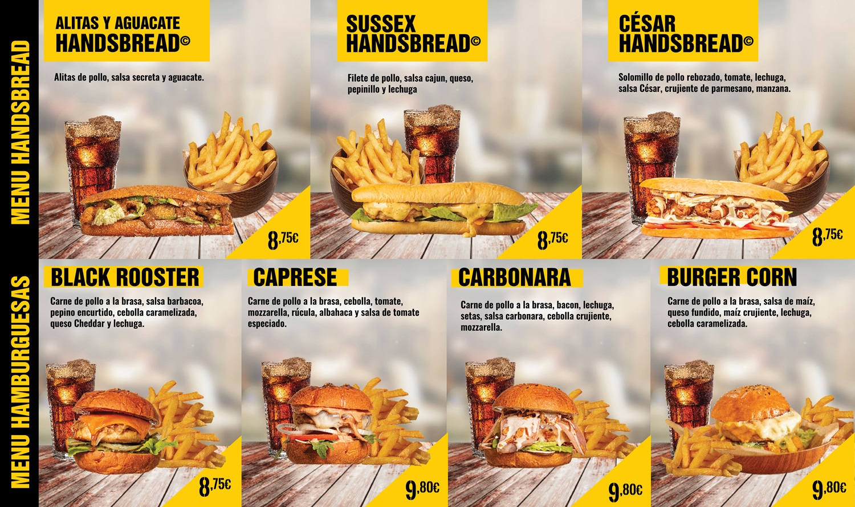 hamburguesas y handsbread baja